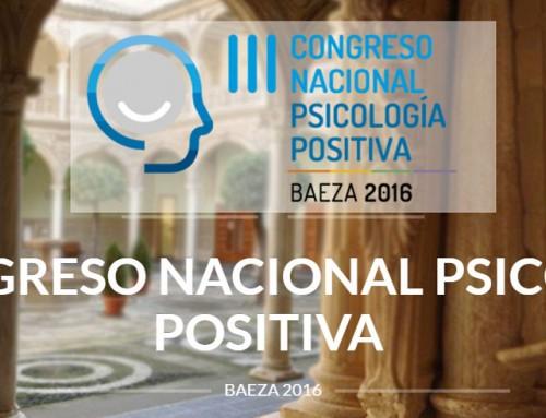 III Congreso Nacional de Psicología Positiva