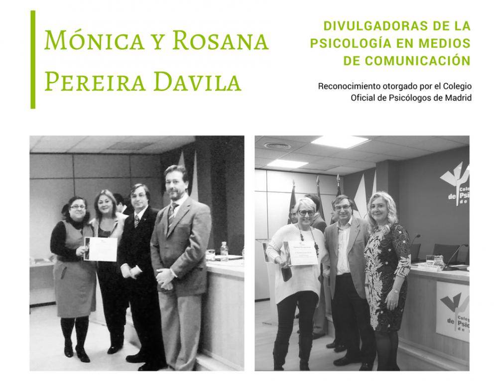 Mónica y Rosana Pereira divulgadoras de la Psicología