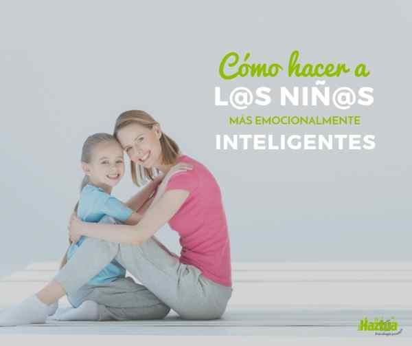 niños emocionalmente inteligentes