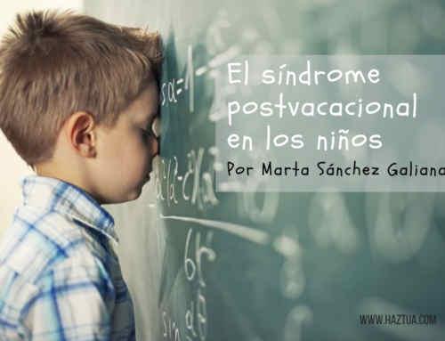 Síndrome postvacacional en los niños ¿Existe?