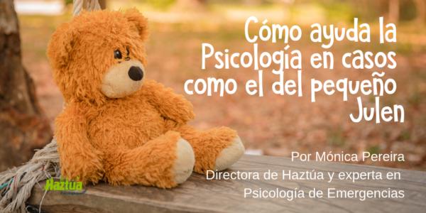Cómo ayuda la Psicología de emergencias en casos como el del pequeño Julen