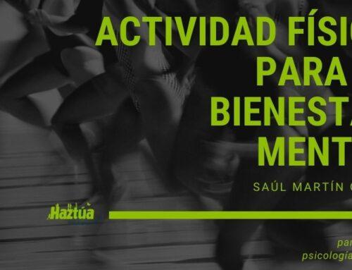 Actividad física para el bienestar mental